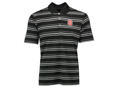 North Carolina State Wolfpack adidas NCAA Men's Puremotion Textured Stripe Polo Shirt