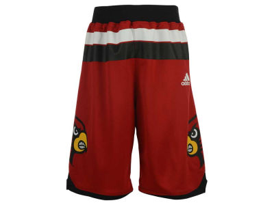 Louisville Cardinals adidas NCAA Youth Replica Road Shorts