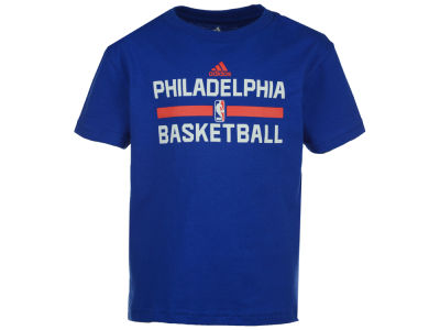 Philadelphia 76ers NBA Kids Practice Wear Graphic T-Shirt