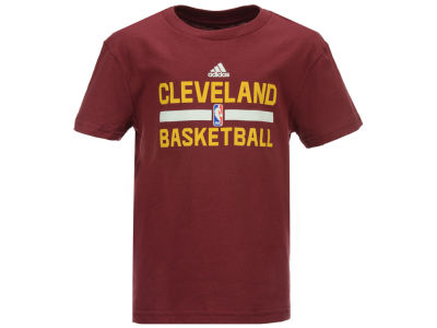 Cleveland Cavaliers adidas NBA Kids Practice Wear Graphic T-Shirt