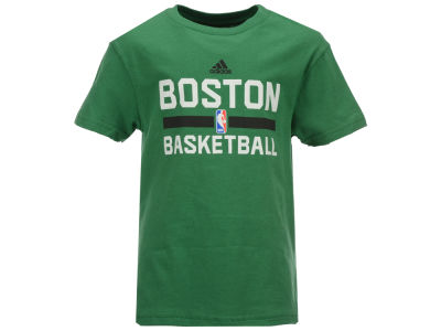 Boston Celtics adidas NBA Kids Practice Wear Graphic T-Shirt