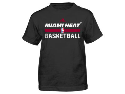 Miami Heat adidas NBA Kids Practice Wear Graphic T-Shirt
