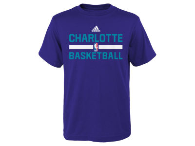 Charlotte Hornets adidas NBA Kids Practice Wear Graphic T-Shirt