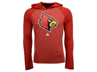 Louisville Cardinals adidas NCAA Men's Ultimate Long Sleeve Hooded T-Shirt