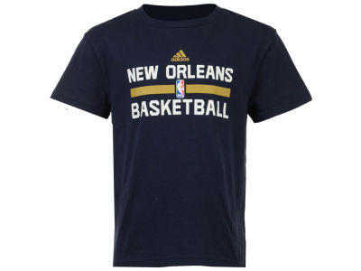 New Orleans Pelicans adidas NBA Kids Practice Wear Graphic T-Shirt