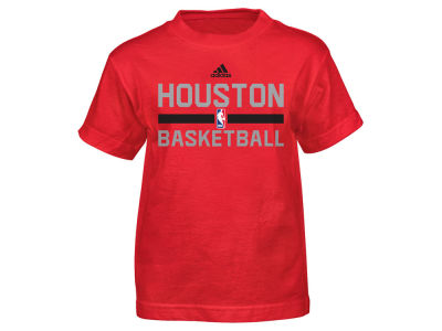 Houston Rockets adidas NBA Kids Practice Wear Graphic T-Shirt