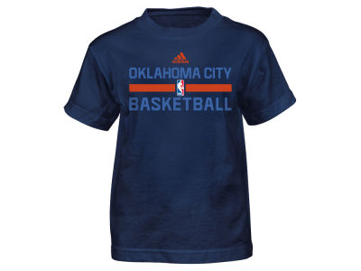 Oklahoma City Thunder adidas NBA Kids Practice Wear Graphic T-Shirt