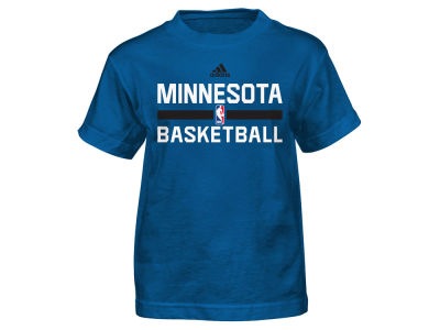 Minnesota Timberwolves NBA Kids Practice Wear Graphic T-Shirt