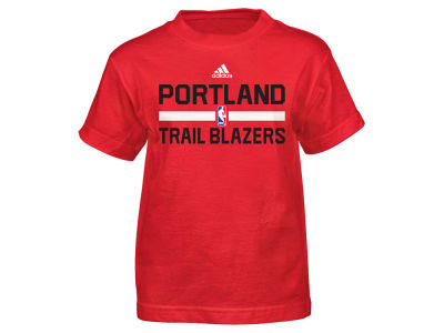 Portland Trail Blazers NBA Kids Practice Wear Graphic T-Shirt