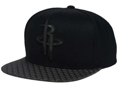 Houston Rockets Mitchell and Ness NBA Reflective Iridescent Snapback Cap
