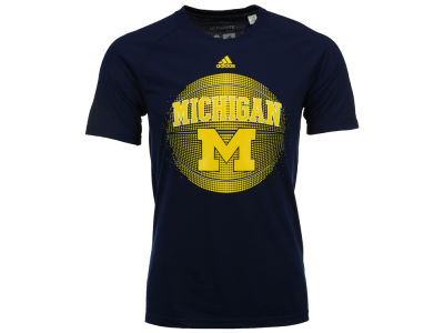 Michigan Wolverines adidas NCAA Men's High Scorer Ultimate T-Shirt