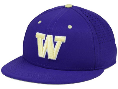 Washington Huskies Nike NCAA Authentic Vapor Fitted Cap