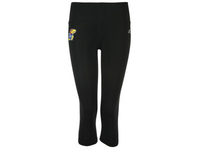 "Kansas Jayhawks adidas NCAA Women's Logo Driven 2.5"" Capri Tights"