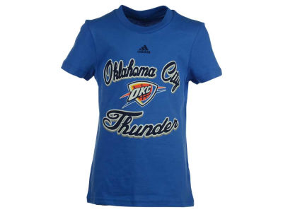 Oklahoma City Thunder NBA Youth Girls Mesh T-Shirt