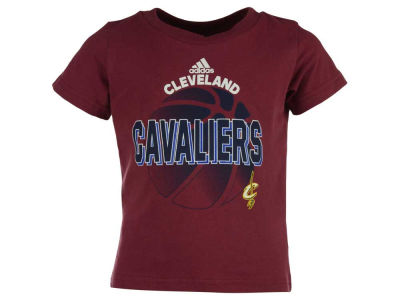 Cleveland Cavaliers adidas NBA Toddler Double Team T-Shirt