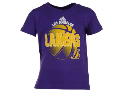 Los Angeles Lakers adidas NBA Toddler Double Team T-Shirt
