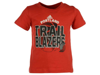 Portland Trail Blazers adidas NBA Toddler Double Team T-Shirt