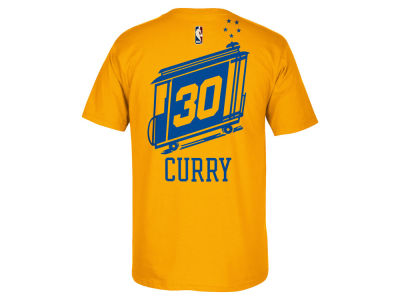 Golden State Warriors Stephen Curry adidas NBA Men's Hardwood Classic Player T-Shirt