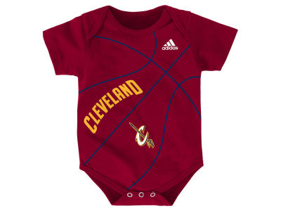 Cleveland Cavaliers NBA Newborn Fan-Atic Creeper