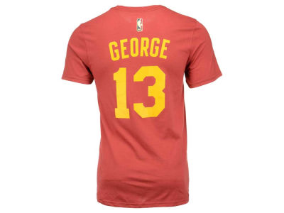 Indiana Pacers Paul George adidas NBA Men's Hardwood Classic Player T-Shirt
