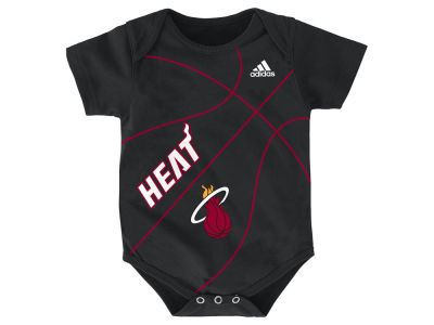 Miami Heat NBA Newborn Fan-Atic Creeper