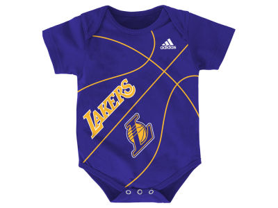 Los Angeles Lakers NBA Newborn Fan-Atic Creeper