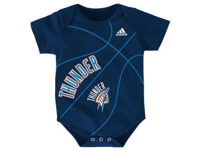Oklahoma City Thunder NBA Newborn Fan-Atic Creeper