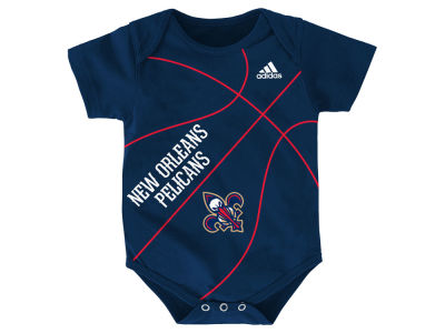New Orleans Pelicans NBA Newborn Fan-Atic Creeper