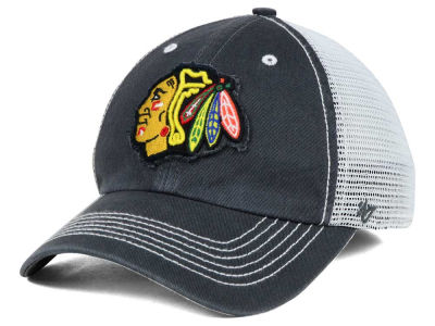 Chicago Blackhawks '47 NHL Charcoal Taylor '47 CLOSER Cap