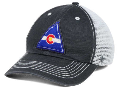 Colorado Rockies '47 NHL Charcoal Taylor '47 CLOSER Cap