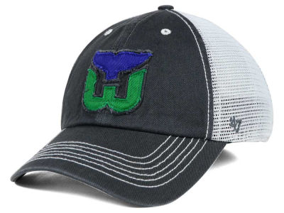 Hartford Whalers '47 NHL Charcoal Taylor '47 CLOSER Cap