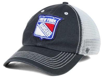 New York Rangers '47 NHL Charcoal Taylor '47 CLOSER Cap