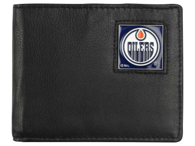 Edmonton Oilers Leather Bi-Fold Wallet