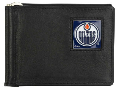 Edmonton Oilers Leather Bill Clip Wallet
