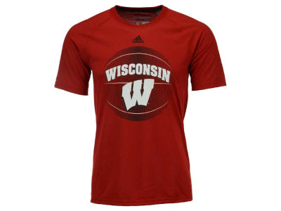 Wisconsin Badgers adidas NCAA Men's High Scorer Ultimate T-Shirt