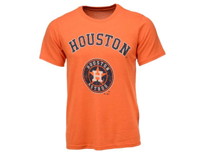 Houston Astros Majestic MLB Men's Triblend Prime Logo T-Shirt