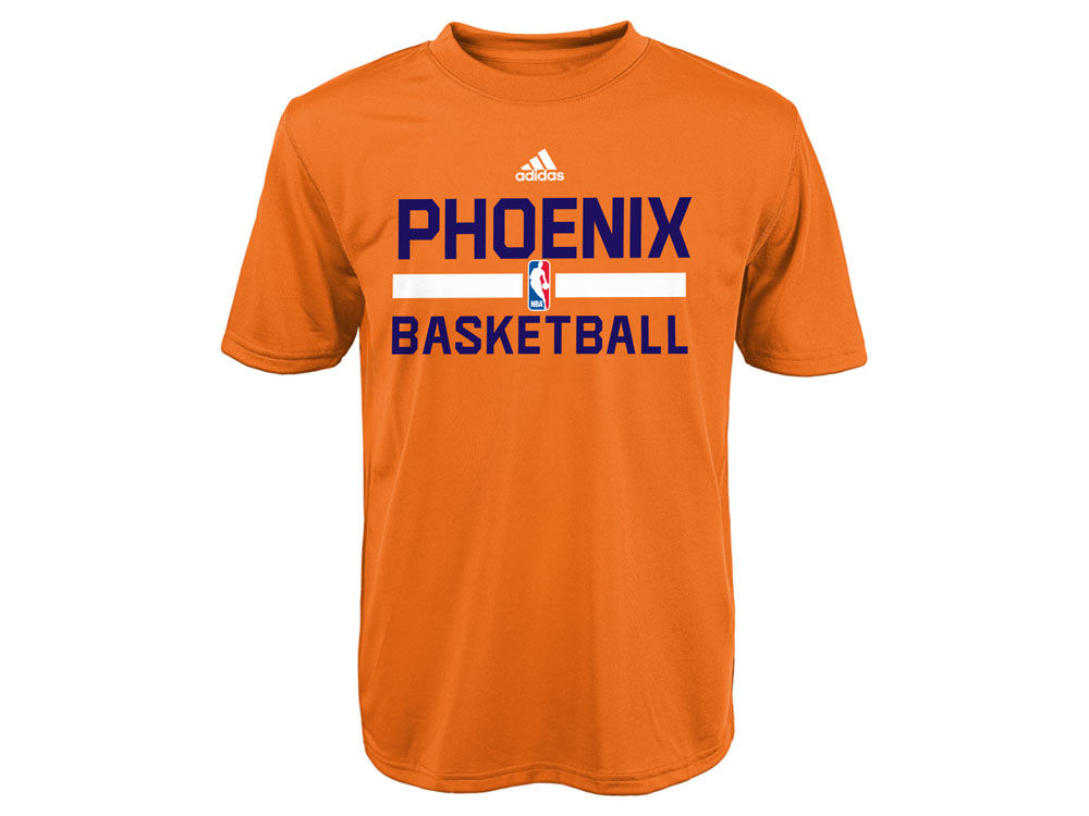 ee35b057c ... Phoenix Suns adidas NBA Youth Practice Wear Graphic T-Shirt ...