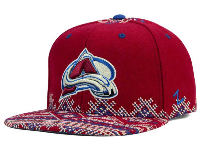 Colorado Avalanche Zephyr NHL Ugly Sweater Snapback Hat