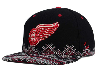 Detroit Red Wings Zephyr NHL Ugly Sweater Snapback Hat