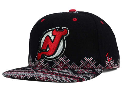New Jersey Devils Zephyr NHL Ugly Sweater Snapback Hat