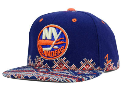 New York Islanders Zephyr NHL Ugly Sweater Snapback Hat