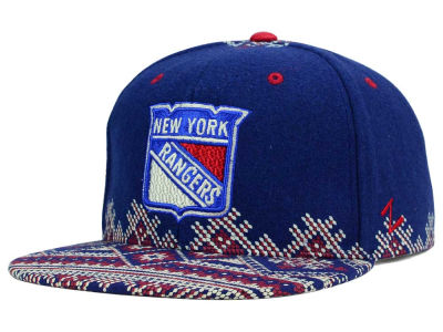 New York Rangers Zephyr NHL Ugly Sweater Snapback Hat