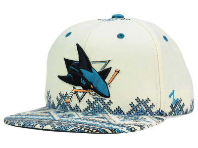 San Jose Sharks Zephyr NHL Ugly Sweater Snapback Hat