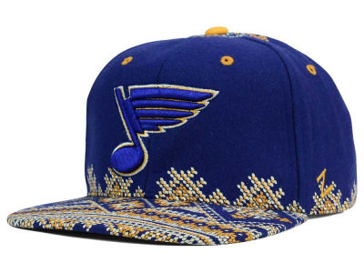 St. Louis Blues Zephyr NHL Ugly Sweater Snapback Hat