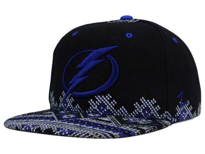 Tampa Bay Lightning Zephyr NHL Ugly Sweater Snapback Hat