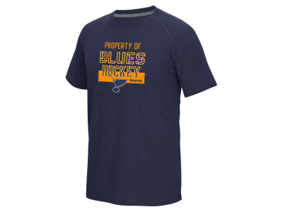 St. Louis Blues Reebok NHL Men's Common Property Supreme T-Shirt