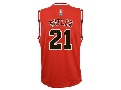 Chicago Bulls Jimmy Butler adidas NBA Kids Replica Jerseys