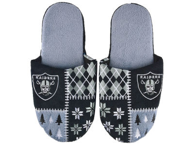 Oakland Raiders Ugly Slippers