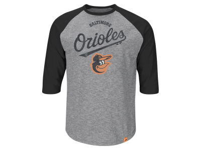 Baltimore Orioles MLB Men's Fast Win Raglan T-Shirt