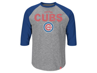Chicago Cubs MLB Men's Fast Win Raglan T-Shirt